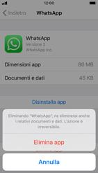 Apple iPhone SE - iOS 13 - Applicazioni - Come disinstallare un
