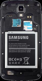 Samsung I9295 Galaxy S4 Active - SIM-Karte - Einlegen - Schritt 9