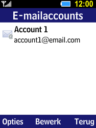 Samsung Xcover 550 (B550H) - E-mail - Account instellen (IMAP met SMTP-verificatie) - Stap 18