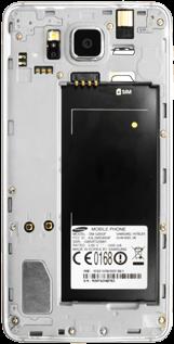 Samsung Galaxy Alpha - SIM-Karte - Einlegen - 4 / 6