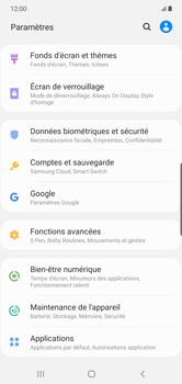 Samsung Galaxy Note 10 Plus 5G - Applications - Comment désinstaller une application - Étape 4