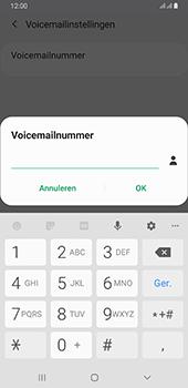Samsung galaxy-a6-plus-sm-a605fn-ds-android-pie - Voicemail - Handmatig instellen - Stap 10