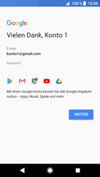Sony Xperia XZ1 - Apps - Einrichten des App Stores - Schritt 17