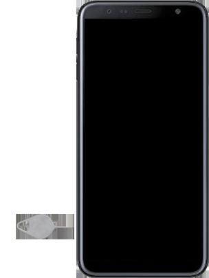 Samsung Galaxy J6 Plus - Premiers pas - Insérer la carte SIM - Étape 6