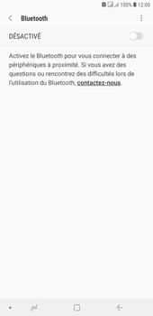 Samsung Galaxy J4+ - Internet et connexion - Connexion avec un équipement multimédia via Bluetooth - Étape 8