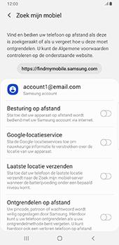 Samsung Galaxy S9 Plus - Android Pie - Toestel - stel Zoek mijn mobiel in - Stap 6