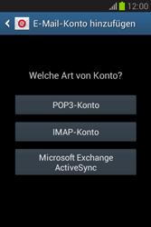 Samsung Galaxy Fame Lite - E-Mail - Manuelle Konfiguration - Schritt 7