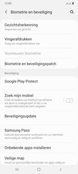 Samsung Galaxy A41 Dual-SIM (SM-A415F) - Beveiliging en ouderlijk toezicht - Zoek mijn mobiel inschakelen - Stap 5