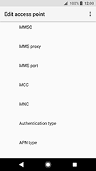 Sony Xperia XA2 - Internet - Manual configuration - Step 12