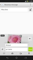Sony C5303 Xperia SP - MMS - Envoi d