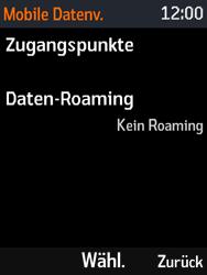 Nokia 3310 - Ausland - Im Ausland surfen – Datenroaming - Schritt 9