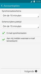 Samsung G900F Galaxy S5 - E-mail - e-mail instellen: POP3 - Stap 16