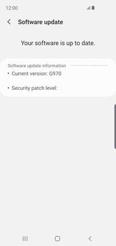 Samsung Galaxy S10e - Software - Installing software updates - Step 8