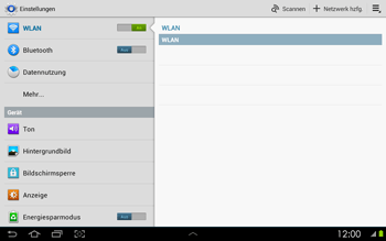 Samsung P5100 Galaxy Tab 2 10-1 - WLAN - Manuelle Konfiguration - Schritt 5