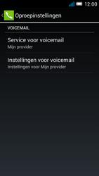 Alcatel OT-6012X Idol Mini - Voicemail - handmatig instellen - Stap 8