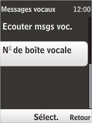 Nokia 6303i classic - Messagerie vocale - Configuration manuelle - Étape 6