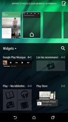 HTC One M8 - Prise en main - Installation de widgets et d