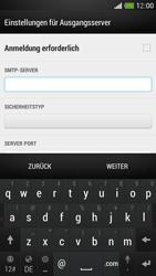 HTC One Mini - E-Mail - Manuelle Konfiguration - Schritt 14