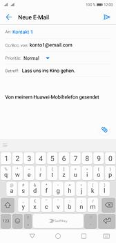 Huawei P20 - E-Mail - E-Mail versenden - 8 / 17