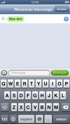 Apple iPhone 5 - MMS - envoi d'images - Étape 6