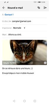 Huawei Y5 (2019) - E-mails - Envoyer un e-mail - Étape 16