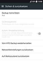 HTC 10 - Android Nougat - Fehlerbehebung - Handy zurücksetzen - Schritt 7