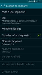 Samsung G850F Galaxy Alpha - Logiciels - Installation de mises à jour - Étape 6
