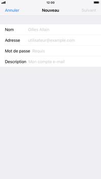 Apple iPhone 8 Plus - iOS 12 - E-mail - Configuration manuelle - Étape 7