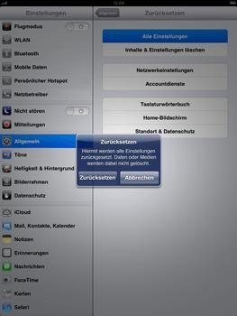 Apple iPad mini - Fehlerbehebung - Handy zurücksetzen - Schritt 8