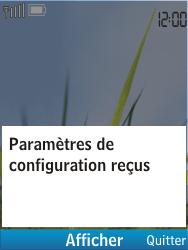 Nokia C2-01 - MMS - configuration automatique - Étape 5