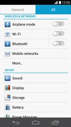 Huawei Ascend P6 - Internet and data roaming - Disabling data roaming - Step 4