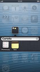 Apple iPhone 5 - Operazioni iniziali - Personalizzazione della schermata iniziale - Fase 6
