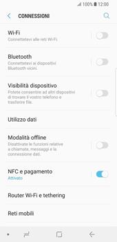 Samsung Galaxy S9 - Rete - Selezione manuale della rete - Fase 5