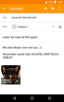 Alcatel Pixi 3 (8) - E-mail - E-mail versturen - Stap 15
