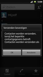 Sony MT27i Xperia Sola - contacten, foto