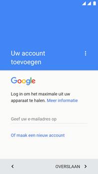 OnePlus 3 - Applicaties - Account instellen - Stap 4