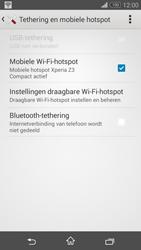 Sony Xperia Z3 Compact 4G (D5803) - WiFi - Mobiele hotspot instellen - Stap 13