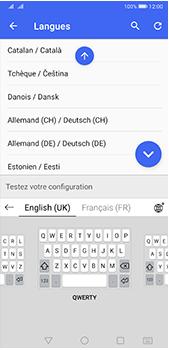 Huawei P20 Pro - Android Pie - Prise en main - Comment ajouter une langue de clavier - Étape 9