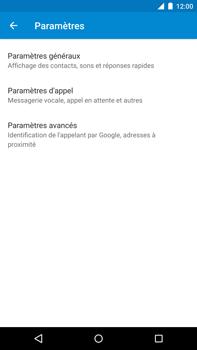 Motorola Nexus 6 - Messagerie vocale - configuration manuelle - Étape 7
