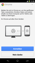 Sony Xperia Z1 - Internet und Datenroaming - Verwenden des Internets - Schritt 5