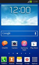 Samsung Galaxy Trend Lite - Applicazioni - Configurazione del negozio applicazioni - Fase 1
