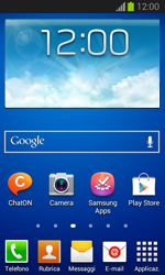 Samsung Galaxy Trend Lite - Dispositivo - Come eseguire un soft reset - Fase 1