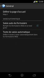 Sony Xperia V - Internet et roaming de données - Configuration manuelle - Étape 22