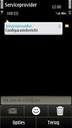 Nokia E7-00 - MMS - Automatisch instellen - Stap 4