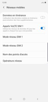 Samsung Galaxy Note 10 - Internet et roaming de données - Désactivation du roaming de données - Étape 7