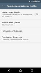 Sony Xperia X - Internet et connexion - Activer la 4G - Étape 6