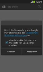 Samsung Galaxy Trend Plus - Apps - Konto anlegen und einrichten - 26 / 28