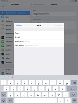 Apple ipad-pro-10-5-inch-ios-12 - E-mail - Account instellen (IMAP met SMTP-verificatie) - Stap 8