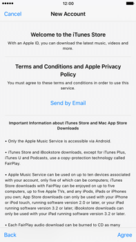 Apple iPhone 6 Plus iOS 9 - Applications - Setting up the application store - Step 10