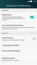 Huawei Y5 - MMS - Manuelle Konfiguration - Schritt 5